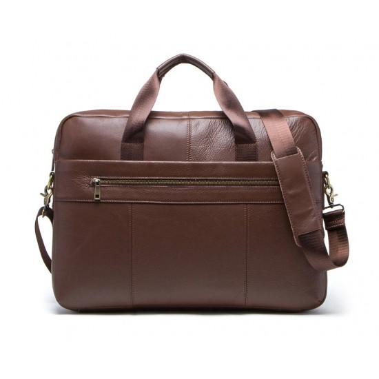 "Кожена чанта 17"""