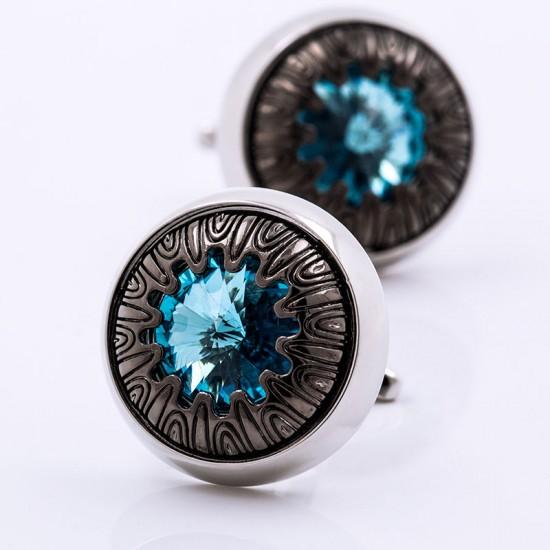 Луксозни кръгли бутонели с кристал