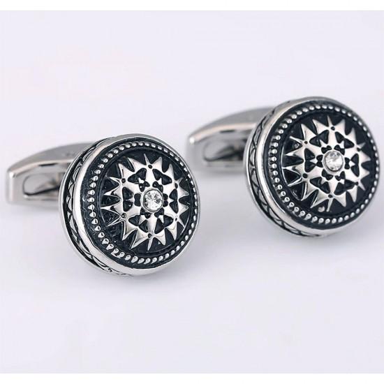 Луксозни кръгли бутонели с камък
