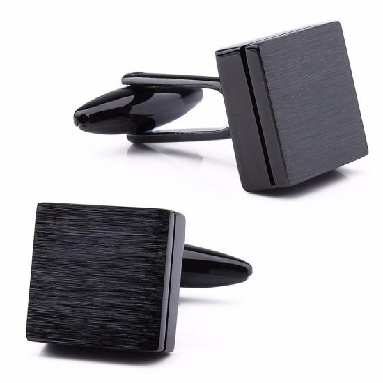 Квадратни черни бутонели графит