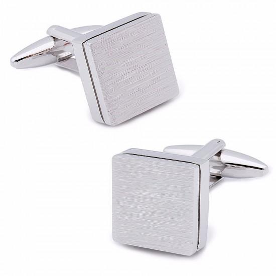 Квадратни сребърни бутонели