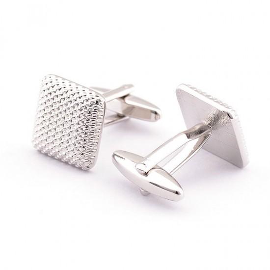 Метални квадратни бутонели с оплетка