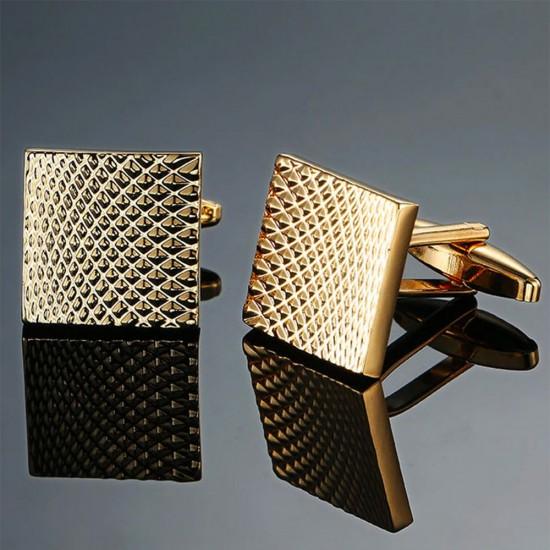 Бутонели златни гравирани квадрати