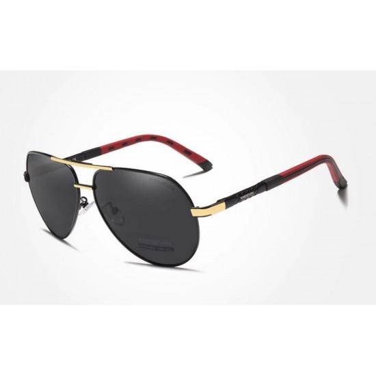 Мъжки слънчеви очила Vintage Red