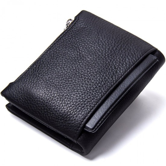 Мъжки кожен портфейл Bullet black